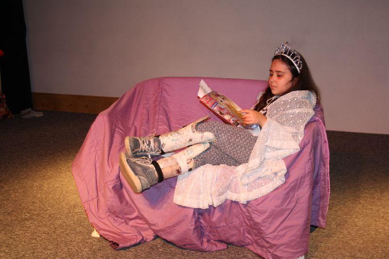 Próba teatralna najmłodszych