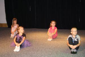 Zajęcia taneczne grupy młodszej