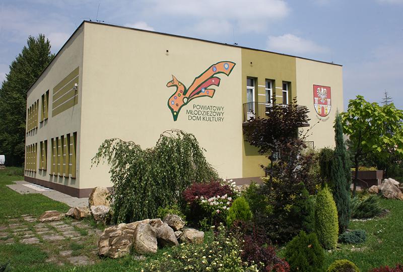 Strona Powiatowego Młodzieżowego Domu Kultury w Będzinie