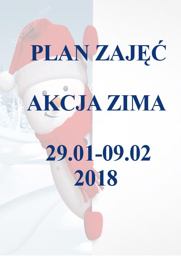 Plan Akcji Zima 2018