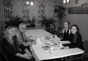 """Posiedzenie komisji konkursowej """"Literacka Zimówka"""""""