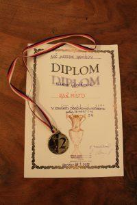 Srebrny medal i dyplom w konkursie modelarskim w Czechcach